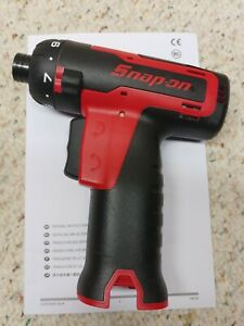 Snap On Cts761a 14 4 Volt 1 4 Micro Lithium Cordless Screwdriver Tool Only New
