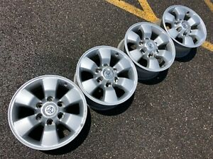 16 Toyota 4runner Tacoma Fj Cruiser Trail Trd Oem Factory Stock Wheels Rims Pro