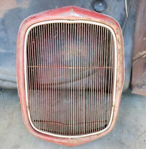 1932 Ford Grill Original From Old Hot Rod