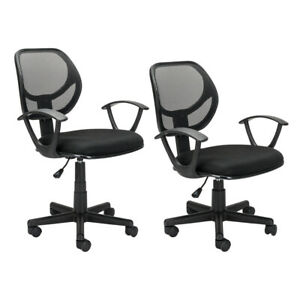 Ergonomic Mid Back Executive Mesh Office Chair Swivel Desk Task Computer Seat