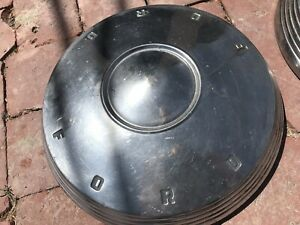 Pair Of Vintage Ford Dog Dish Hub Caps 1960 S Hubcaps