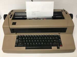 Ibm Correcting Selectric Iii Electric Tan Typewriter Free Shipping