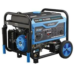 Pulsar 12 000 Watts Dual Fuel Gas propane Generator Electric Start Pg12000b
