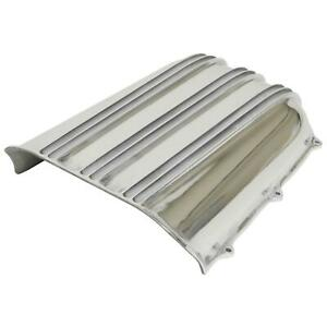 Offenhauser 5285 Hood Scoop Aluminum Polished Bolt On Universal Each