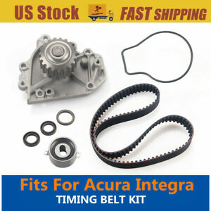 Replace Oem Timing Belt Water Pump Kit For 90 95 Acura Integra Factory Parts