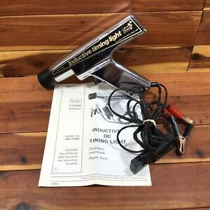Vintage Sears Inductive Timing Light Model 244 213801 W Manual