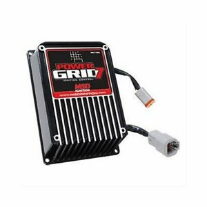 Msd 7720 Ignition Box Power Grid 7 Capacitive Discharge Digital Universal Ea