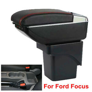 Armrest Box For Ford Focus 2 Mk2 2005 2011 Double Layer Consoles Arm Rest