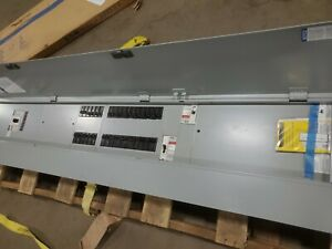 Eaton Main Breaker Circuit Breaker Panel Prl3a 400a Max 120 240v Lt Ez V 2090 Sf