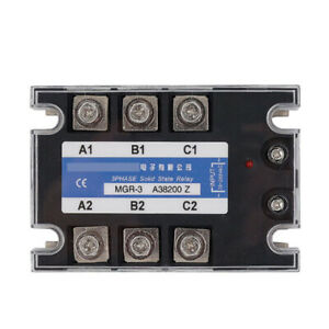 Three phase Solid State Relay For Mager Mgr 3 A38200z Tsr 200aa 380vac 70 280vac