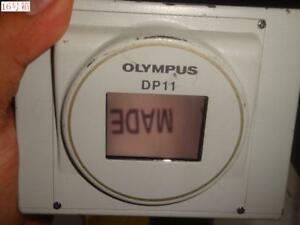 Used Olympus Dp11 n Microscope Camera W o Controller And Lens