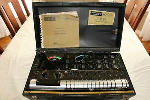 B k Dyna jet 747 Solid State Dynamic Mutual Conductance Tube Tester Calibrated