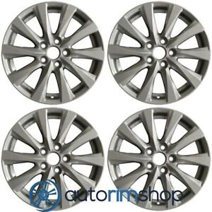 New 17 Replacement Wheels Rims For Toyota Camry 2018 2019 Set Silver