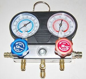 Pittsburgh Automotive A c Manifold Gauge Set Model 60806 R134a 404a 407c