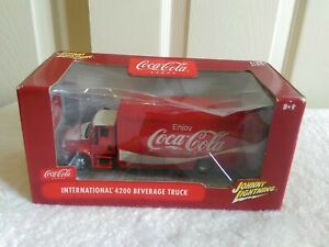 Coca-Cola International 4200 Beverage Delivery Truck Johnny Lightning Diecast...