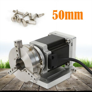 Laser Filber Marking Machine Ring Rotary Axis Engraving Cutting Rotating Fixture
