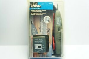 Ideal 33 864 Tone Generator And Probe Kit Cable Tracing