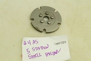 #720 Lee Loadmaster shellplate 4as 32 Smith & Wesson Long and .32 H&R Magnum