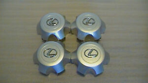 Fits 1996 1998 Lexus Lx450 Silver Wheel Center Cap Hubcap Used Set Of 4