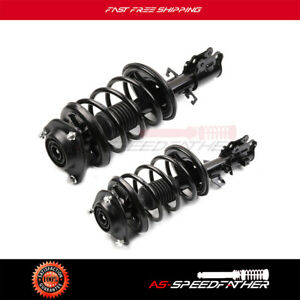 For Kia Spectra 2004 09 Front Pair Complete Strut Shock Absorber Spring Assembly