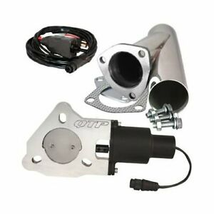 Quick Time Performance Electric Exhaust Cutout Qtec25cp