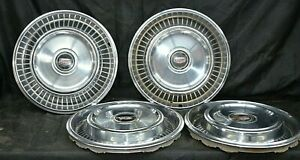 1971 1972 1973 1974 1975 1976 1977 Mercury Ford Comet Hubcaps 14 Wheel Covers