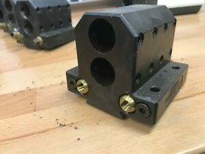 Double Tool Holder For Hardinge T42 Lathe 25mm Bore Used