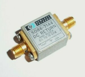 Hp Agilent 5086 7144 Dc Return And Block 0 1 To 18 Ghz