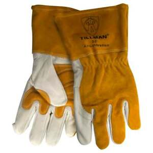 Tillman 52 Top Grain Cowhide Anti vibration Mig Welding Gloves X large