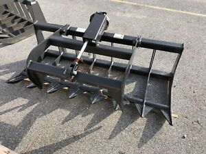 Titan Implement 66 Single Cylinder Root Grapple For Compact Tractors