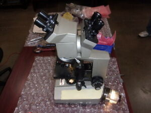 Olympus Bhb Bh Microscope dual Head 2 light Source Extras Included