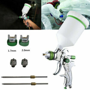 1 4 1 7 2mm Hvlp Air Spray Tool W 101 Gravity Feed Paint Kit Tool