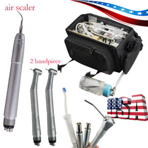 Portable Dental Turbine Unit Air Compressor Suction Syringe Handpiece Air Scaler