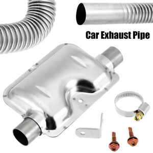 60cm Exhaust Pipe W 24mm Silencer Muffler Fit For Hcalory Car Diesel Air Heater
