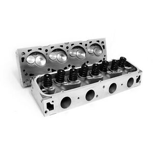 Cylinder Heads Ford Bb 429 460 Aluminum Assembled Set New