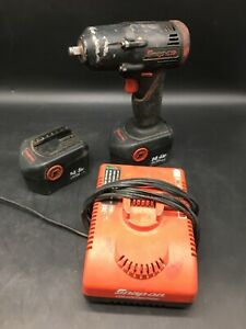 Snap On 3 8 Inch Cordless 14 4 Volt Impact Ct4410a Ctb4187