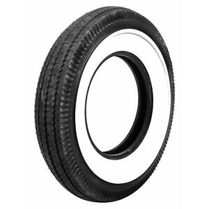 Set Of 4 Coker Bfgoodrich Vintage Tires 7 00 16 Bias Ply Whitewall 67660
