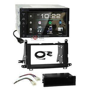 Kenwood Dvd Bt Spotify Sirius Stereo Dash Kit Harness For 2009 15 Toyota Venza