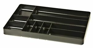 Ernst 5011 the Tray Classic Black 10 compartment Tool Organizer