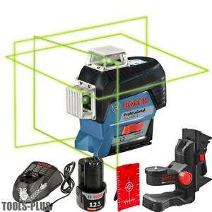 Bosch Gll3 330cg 360 Connected Three plane Leveling Alignment line Laser New