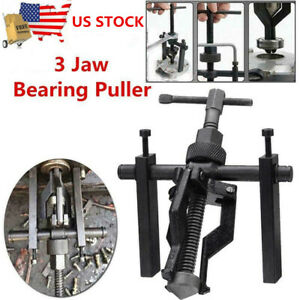 Three Jaw Type Puller Bushing Extractor Automotive Tools Pilot Bearing Puller Us