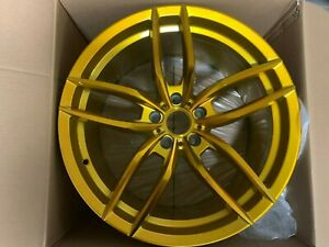 Set Of Four 19x8 5 19x9 5 Staggered Gold Vosso Style Wheels For Jdm 5x114 3