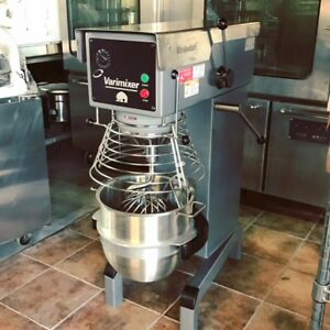 Varimixer 30 Qt Mixer W30 Bakery Equipment Bowl Guard 115 Volts Batidora look