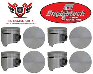 Chrysler Dodge Mopar 383 V8 Enginetech Pistons 8 1959 1971 030 040 060 Sizes