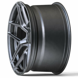 19 Brixton Forged Rf7 Grey Concave Forged Wheels Rims Fit 13 18 Audi Q3
