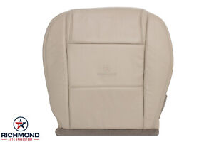 2006 2007 2008 Ford Mustang V6 Driver Side Bottom Genuine Leather Seat Cover Tan