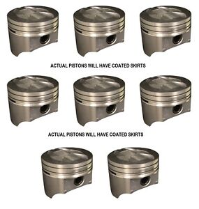 Ford Truck 302 5 0 5 0l Sealed Power Pistons 8 1987 1992