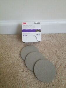 3m Trizact 30804 P8000 Grit 3in 3 Sheets