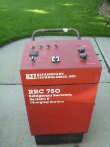 Rti Rrc750 R12 Air Conditioning Refrigerant Recovery Recycling Machine