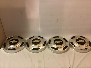 Vintage 70s 80s 1 2 Ton Chevy Pick Up 10 5 Dog Dish Hub Caps